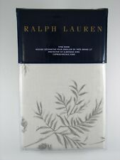 Ralph Lauren Home Hoxton Ainslie King Pillow Sham Floral Cream Grey - NEW
