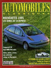 REVUE MAGAZINE AUTOMOBILES CLASSIQUES N°64 10/11 1994 AUDI BMW MERCEDES FERRARI