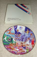 Olympics -1984 Los Angeles Olympic Games - Collector'S Plate