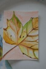 Watercolour Nature ACEO (2.5x3.5in.) Size Art Paintings