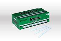 600 MICRO SLIM GREEN MENTHOL EMPTY ROLLO TUBES Cigarrette Tobbacco Filter