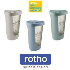 Rotho Fabu Eco Müllsackständer 50 L Gelber Sack Deckel Mülleimer Abfall Sammler