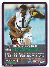 2009 Teamcoach Prize Card (156) Aaron SANDILANDS Fremantle