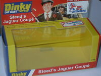 DINKY STEEDS JAGUAR 113  THE NEW AVENGERS CODE 3 DISPLAY BOX. LIMITED EDITION