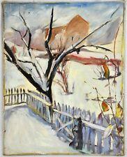 """Richard Bassett (Massachusetts, 1900 - 1995) """"Driven Snow"""" (BI#MK/180517)"""