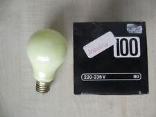 Rares Tungsram Agl Anti Insectes Insekta Ampoule E27 100W Ton Doux Jaune