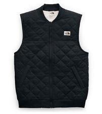 North Face Cuchillo Insulated Vest 2.0 Black Size Small Quilted Diamond Sherpa