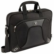 "Wenger Administrator 15"" Slim Laptop Case Bag With iPad/Tablet Pocket 14.2"" 15"""