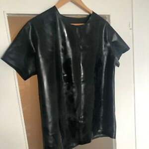 Latex T Shirt schwarz Herren XL chloriert Simon.O.
