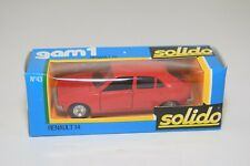 A11 1:43 SOLIDO 43 RENAULT R14 R 14 RED MINT BOXED