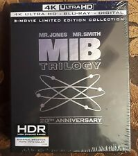 MIB:4K ULTRA+BLU RAY+DIGITAL HD Trilogy movie limited edition factory sealed 1-3