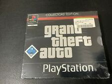 GRAND THEFT AUTO COLLECTORS EDITION PS1 PLAYSTATION 1 NEUF NEU NEW SEALED GAME