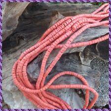 1 fils de perle Coco rocaille de 60 cm  diamètre 6 mm +/-