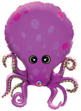 Octopus Supershape Foil Balloon Under the Sea Birthday Party Decoration