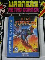 Sega Megadrive Genesis mega turrican  No manual Video Game  Boxed