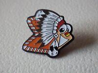 Pin's vintage Collector épinglette publicitaire logo indien  Lot L090