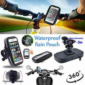 For iPhone 12 Pro Max XR X 360° Waterproof Bike Bicycle Phone Case Mount Holder