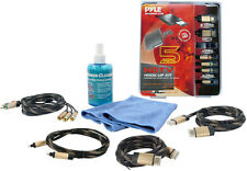 New Pyle PHDMIKT2 HDTV Cleaning Kit W/ 2 HDMI High Definition Cables Package