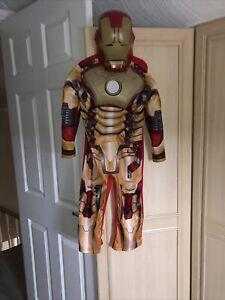Boys Fancy Dress Iron Man Age 3-4 Yrs By Marvel