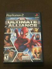 Sony PlayStation PS2 Marvel Ultimate Alliance Video Game Rated T