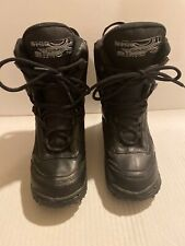 Sims Caliber Mens Youth Black Snowboard Boots Size 3