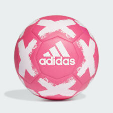 adidas Starlancer Club Soccer Ball Pink White Size 5