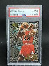 1995-96 Fleer Metal #212 ~ NUTS & BOLTS ~ Michael Jordan ~ PSA 10 GEM