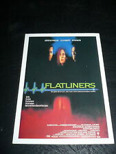 FLATLINERS, film card [Kiefer Sutherland, Julia Roberts, Kevin Bacon]