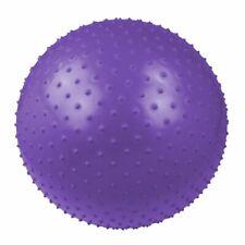 Ballon de massage Ø 75 Balle de gymnastique et de fitness + pompe & bol en bois