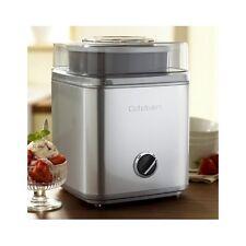 Ice Cream Frozen Yogurt Maker 2 Quart Automatic Sorbet Stainless Steel Machine