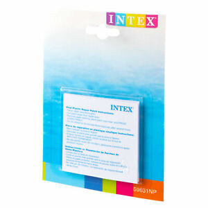 6x Repair Patch Kit Intex Paddling Pool Hot Tub Pool Swimming Inflatables Airbed