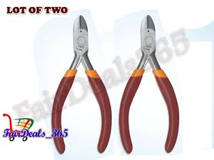 """LOT OF 2 PCS 5"""" 125MM MINI SIDE CUTTER JEWELRY SMALL PLIERS CRAFT SPRING BEADING"""