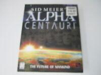 Sid Meier's Alpha Centauri Big Box PC Game Complete