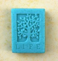 LIFE Tree Craft Art Silicone Soap Mold Candle Mould DIY Handmade Flexible Molds