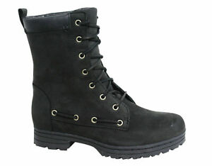 Sebago Dorset Lace Up Black Leather Womens Winter Waterproof Boots B512100 B35C