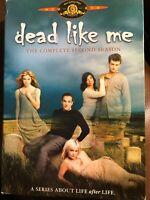 Dead Like Me - The Complete Second Season (DVD, 4-Disc Set)
