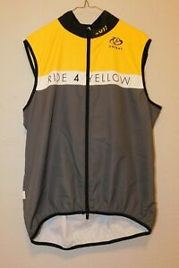 Mens Sz L Pre-owned Sleeveless Primal Cycling Shirt