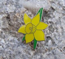 Beautiful Narcissus Yellow Daffodil Spring Flower Bloom Pretty Brooch Pin Badge