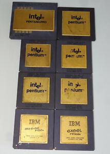 8 Keramik CPU's / Goldschrott