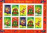 10 TIMBRES NEUFS - MEILLEURS VOEUX - BONNE ANNEE- 1998 - BLOC FEUILLET