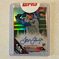 TRAYCE THOMPSON 2016 Topps Chrome #RA-TT Rookie RC Refractor Autographs /499