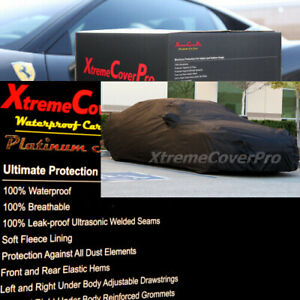 2021 JAGUAR XE WATERPROOF CAR COVER W/MIRROR POCKET -BLACK