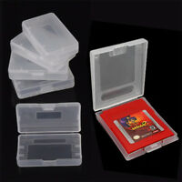 10x Clear Game Cartridge Case Cover Boxes For Gameboy Advance GBA SP GBM Cheap