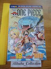 ONE PIECE LOG 18 grand format Eiichiro Oda Collection Hachette MANGA VF