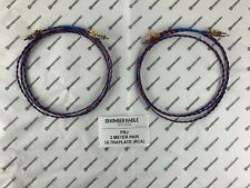 New listing Kimber Kable Pbj 2 Meter Pair with UltraPlate Rca connectors (Retail $180)