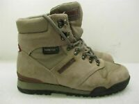MERRELL Boots Women's Size 9.5 Hiking Trail GORE-TEX WATERPROOF Gray Leather