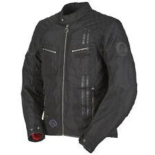 Giacche impermeabili neri per motociclista poliestere