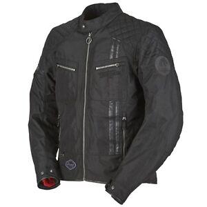 30% OFF FURYGAN SERPICO Vintage Retro Style Black Waterproof Motorcycle Jacket