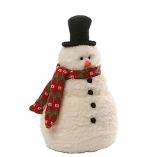 Brrr Snowman Small Plush Soft Toy For Christmas