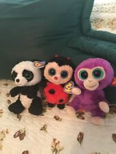 Lot Of 3 Ty Beanie Boos